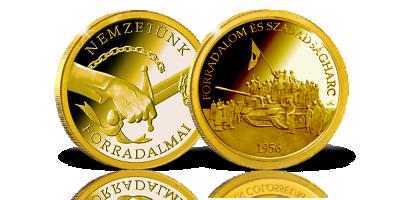Az 1. díj: lenyűgöző 14 karátos arany érem!