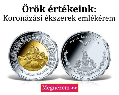 Magyar Éremkibocsátó Kft. - Örök értékeink sorozat: Koronázási ékszerek emkékérem