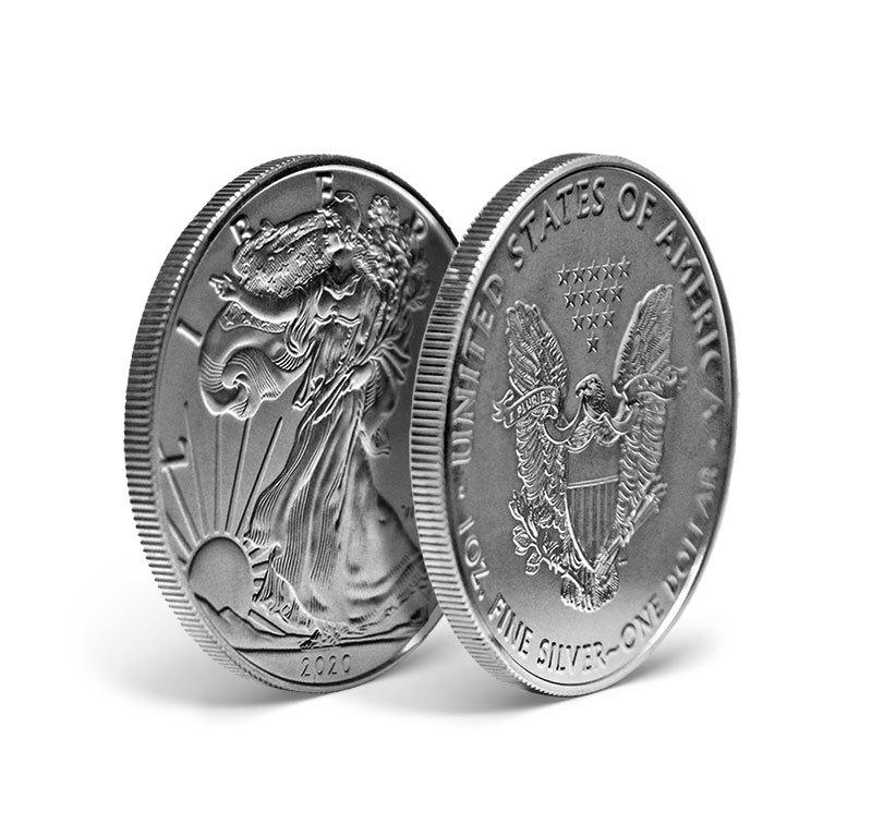 Magyar Éremkibocsátó Kft. - Amerikai Ezüst Sas 2020, március 31-ig kedvezményes áron