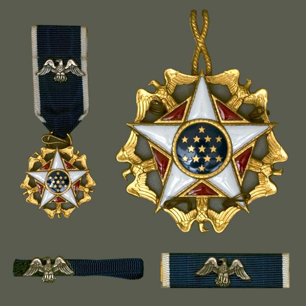 Magyar Éremkibocsátó Kft. - Az amerikai elismerések egyik legrangosabbja, a Szabadság-érdemrend