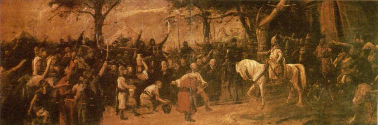 Munkácsy Mihály - Honfoglalás