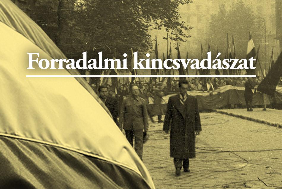 Magyar Éremkibocsátó Kft. - Forradalmi kincsvadászat az 1956-os forradalom 60. évfordulójára