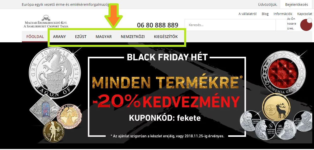 Magyar Éremkibocsátó Kft. - Itt a Black Friday Hét!