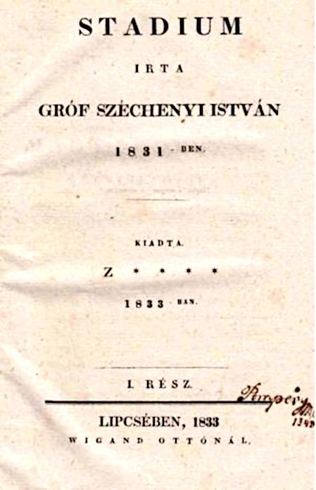Gróf Széchenyi István - Stádium / Forrás: Wikipedia