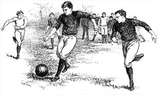 A labdarúgás rövid története