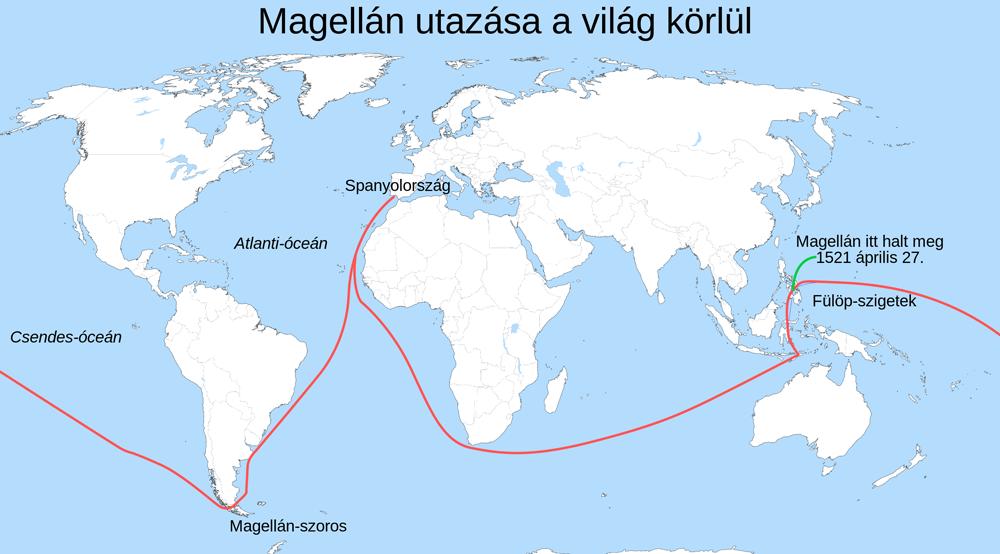 Magyar Éremkibocsátó Kft. - Magellán föld körüli útja