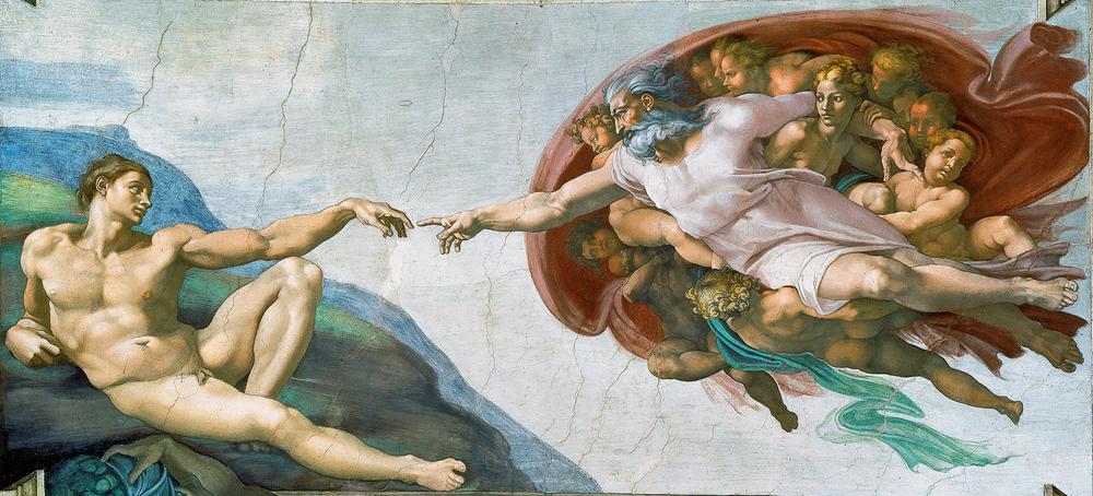 Magyar Éremkibocsátó Kft. - Michelangelo: Ádám teremtése