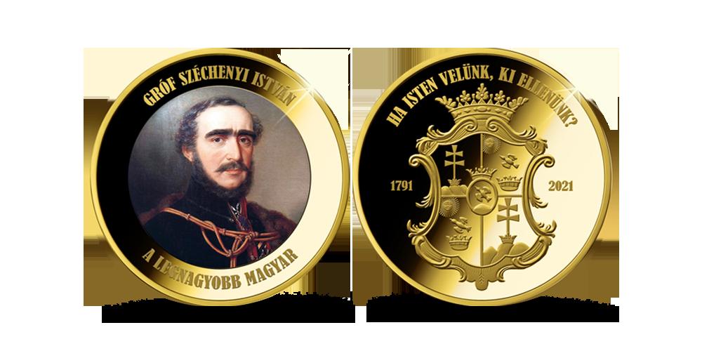 Magyar Éremkibocsátó Kft. - Gróf Széchenyi István emlékérem