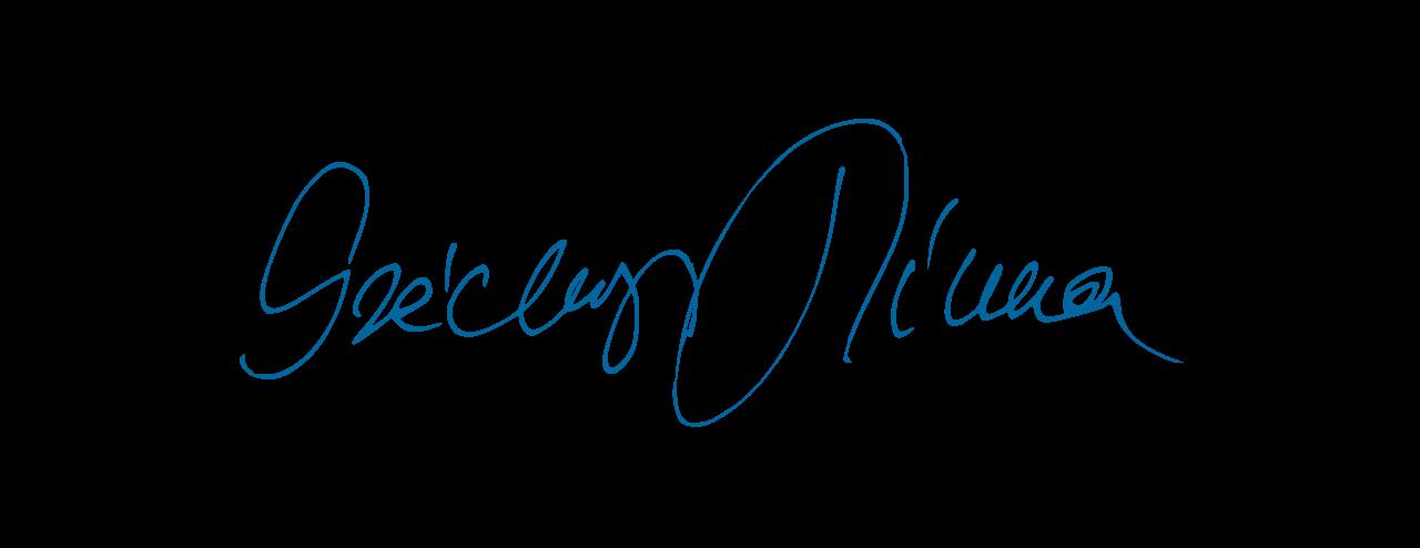Széchenyi Tímea aláírása