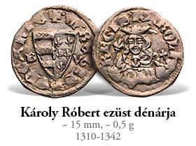 Magyar Éremkibocsátó Kft. - Károly Róbert ezüst dénárja