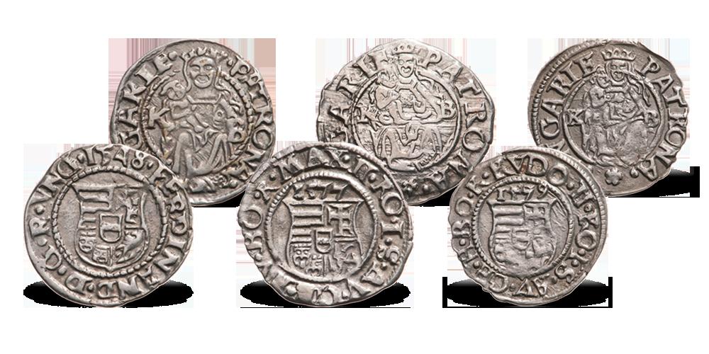 Magyar Éremkibocsátó Kft. - 16. századi magyar királyok eredeti ezüst pénzérméi