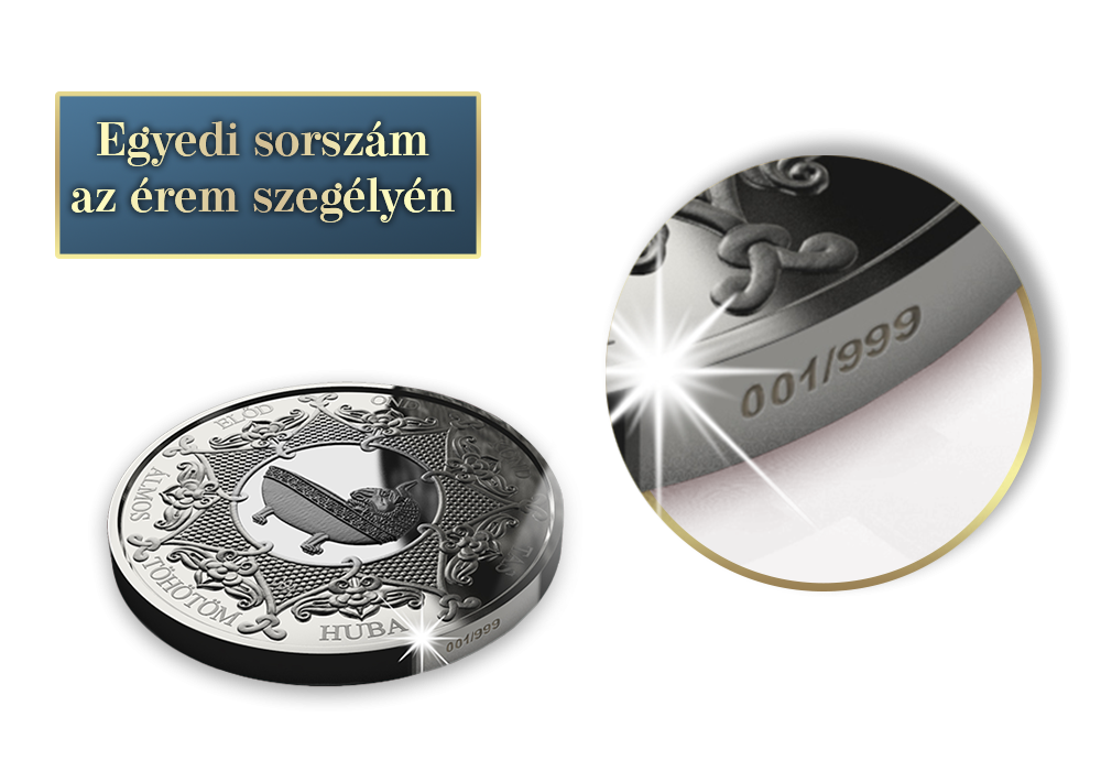 Magyar Éremkibocsátó Kft. - Vérszerződés emlékérem