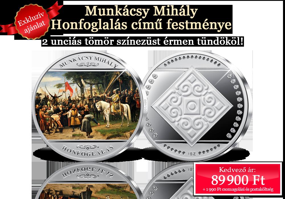 Munkácsy Mihály világhírű, Honfoglalás című festménye
