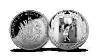 Magyar Éremkibocsátó Kft. - A II. világháború végét hírdető híres fotó A csók tömör színezüst érmén