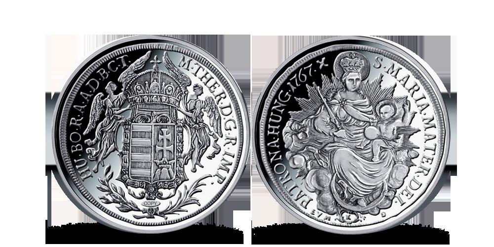 Magyar Éremkibocsátó Kft. - Mária Terézia ezüsttallérjának replikája