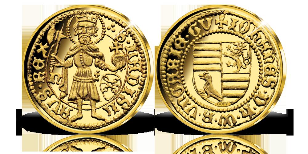 A legértékesebb magyar érmék replikái kollekció