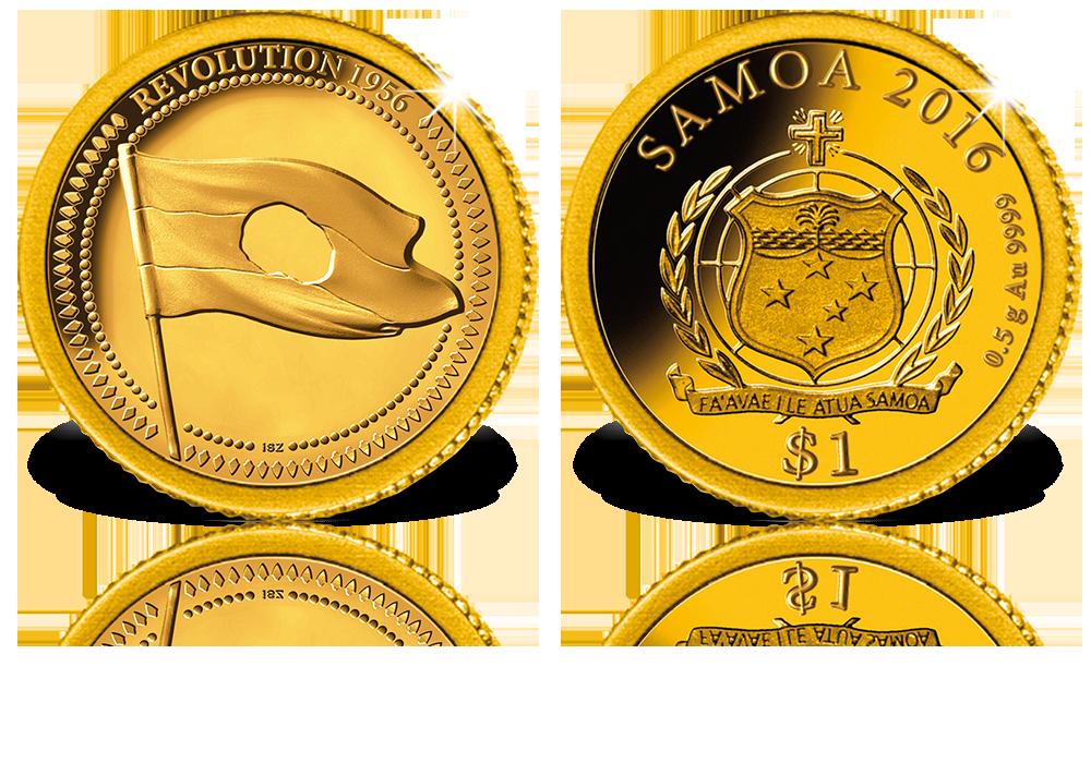 aaf5ed6841 Magyar Éremkibocsátó Kft. - A világ legkisebb arany érméi: 1956