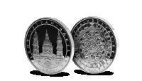 Magyar Éremkibocsátó Kft. - 5 unciás színezüst Szent István-bazilika érem