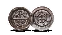 II. Béla eredeti ezüst dénár
