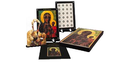 Fekete Madonna 1 kilogrammos puzzle érme