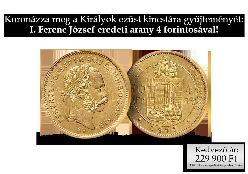 Koronázza meg a Királyok ezüst kincstára gyűjteményét!