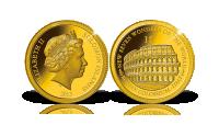 Magyar Éremkibocsátó Kft. - Colosseum érme aranyból