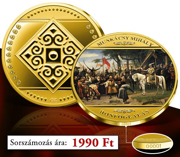 Magyar Éremkibocsátó Kft. - Sorszámozott Honfoglalás emékérem