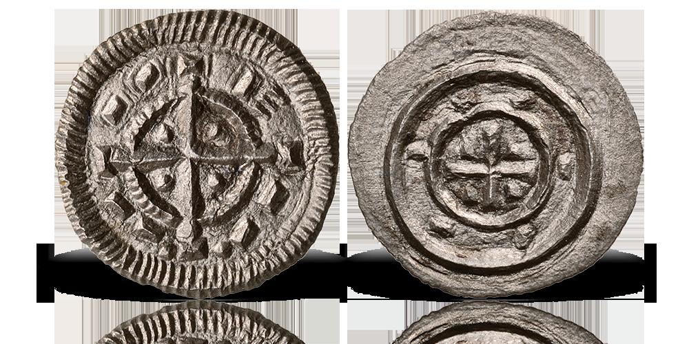 II. Béla eredeti ezüst dénárja egyenesen a 12. századból!