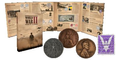 II. világháborús numizmatikai válogatás