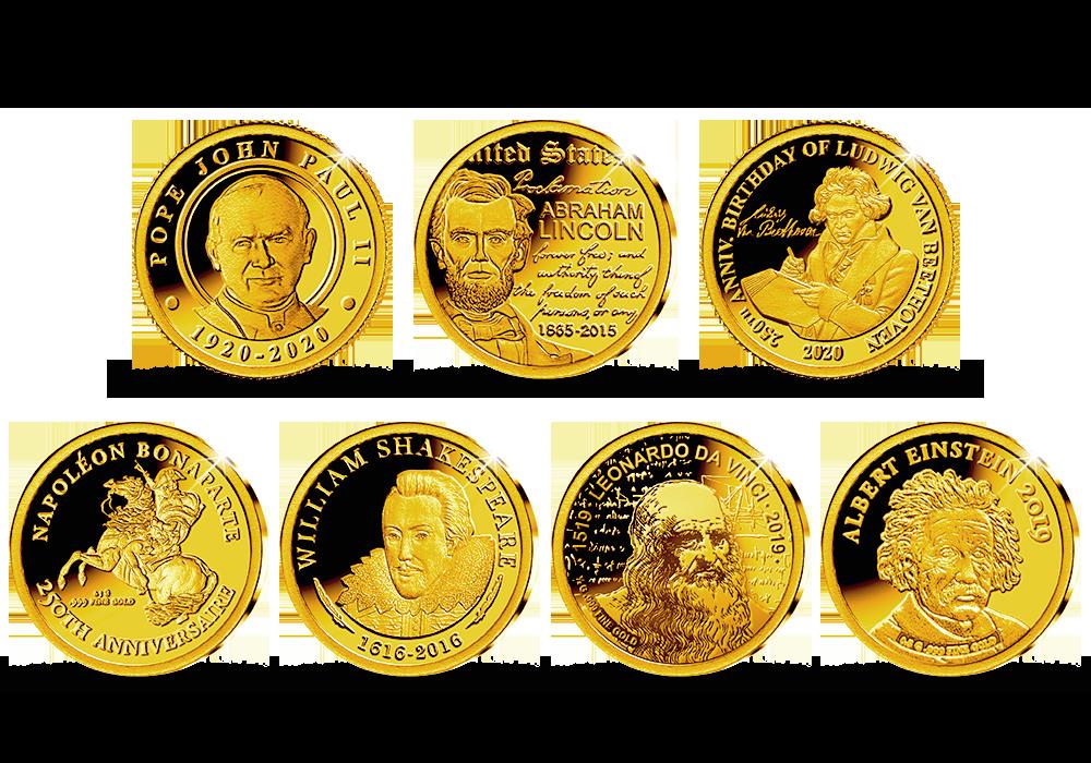 A világ hét géniusza sorozat