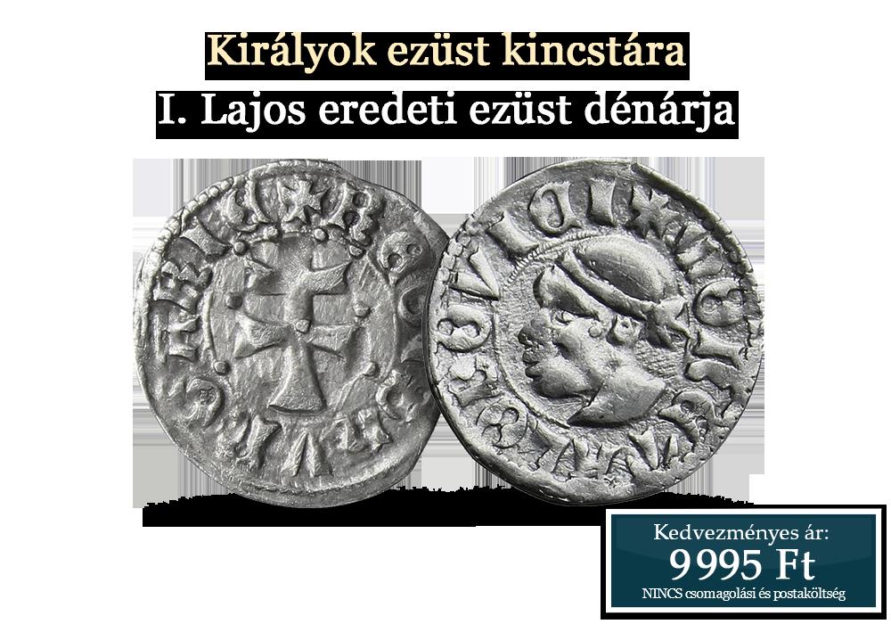 Eredeti történelmi érmék a Magyar Királyság századaiból
