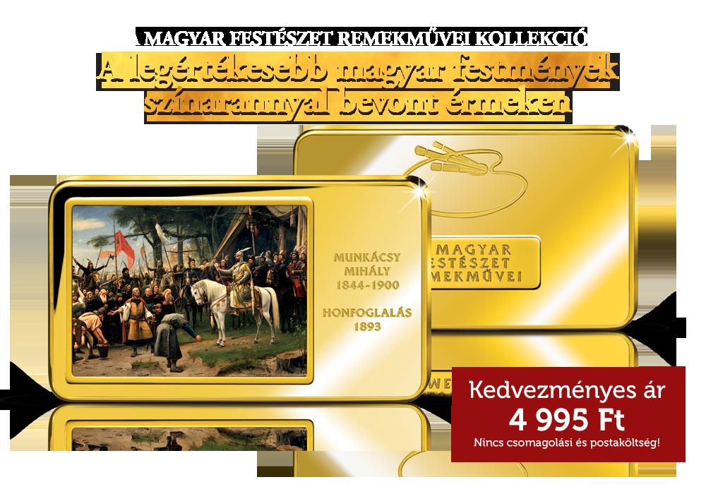 A magyar festészet remekművei kollekció - Honfoglalás érem c94fac2d9d