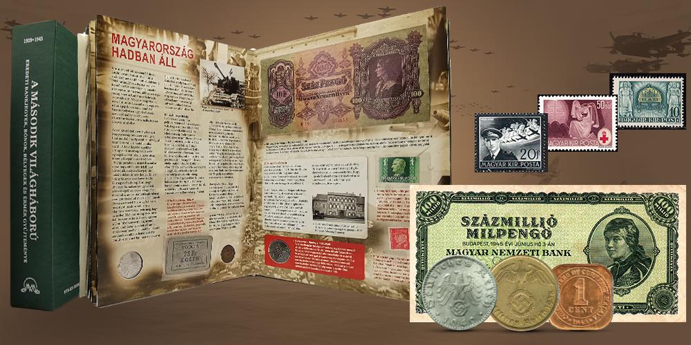 Magyar Éremkibocsátó Kft. - II. világháborús numizmatikai könyv