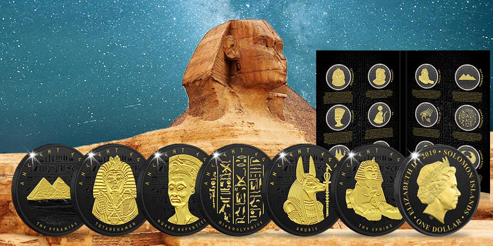 Magyar Éremkibocsátó Kft. - Ókori Egyiptom érme szett
