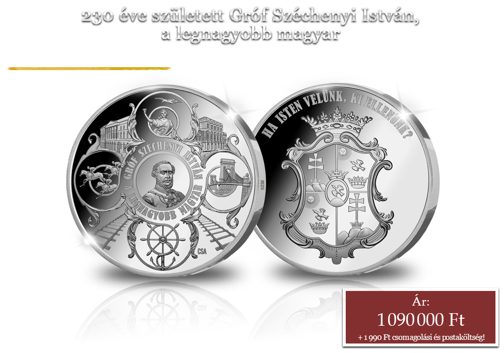 Gróf Széchenyi István, a legnagyobb magyar