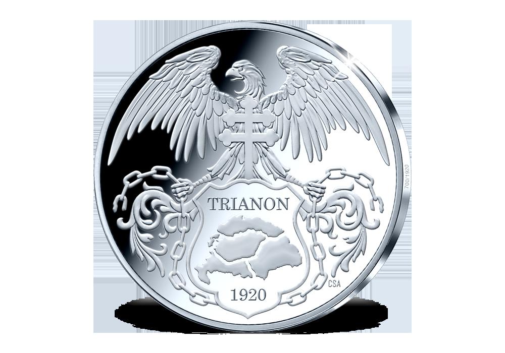 Magyar Éremkibocsátó Kft. - Színezüst Trianon emlékérem a 100. évforduló alkalmából