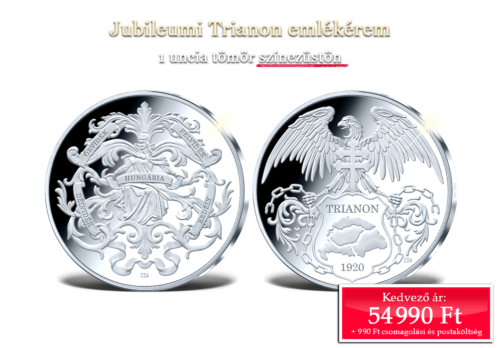 Jubileumi Trianon emlékérem