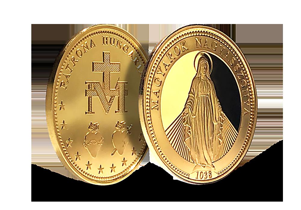 Magyar Éremkibocsátó Kft. - Szűz Mária emlékérem méltányosan bányászott színaranyból