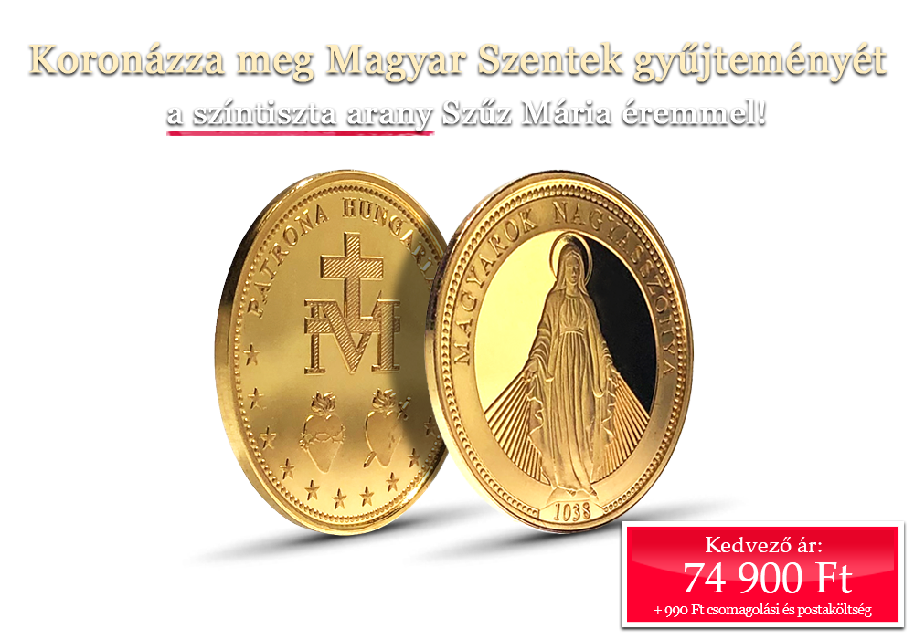 Koronázza meg Magyar Szentek gyűjteményét!