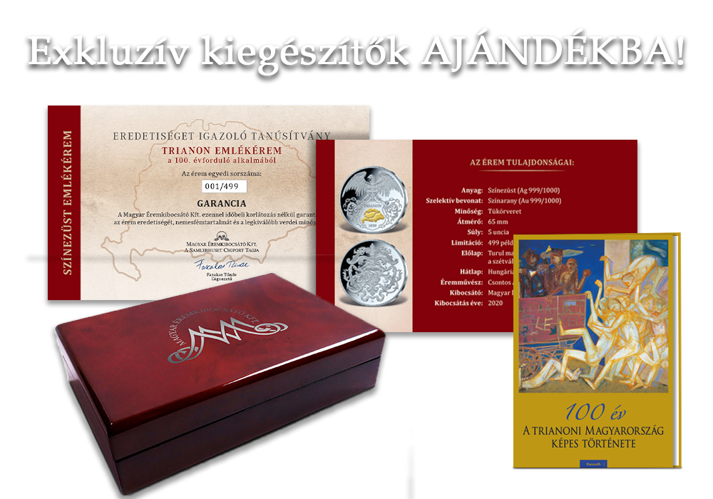 Magyar Éremkibocsátó Kft - Ajándék kiegészítők